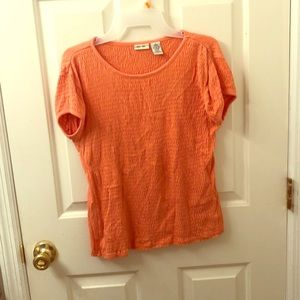 Cherokee girls XL orange top